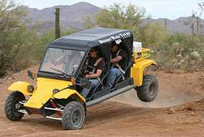 Take a Tomcar tour of the desert after the behavioral sciences research conference
