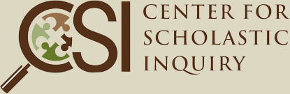 Center for Scholastic Inquiry Logo